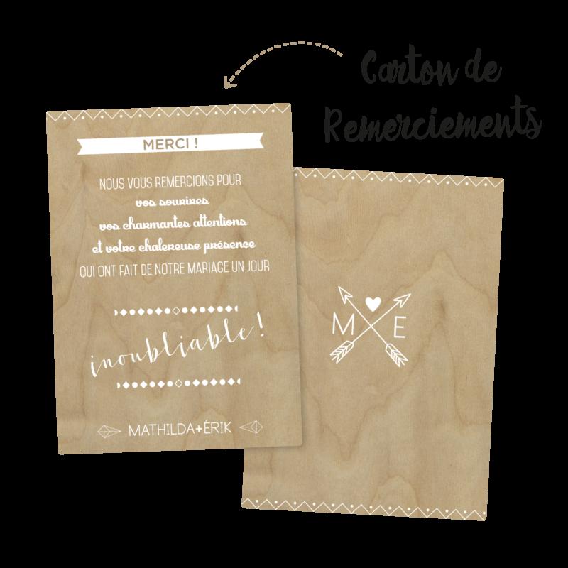Collection SCANDINAVE - Remerciements